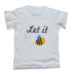 Camiseta Let it Bee |...