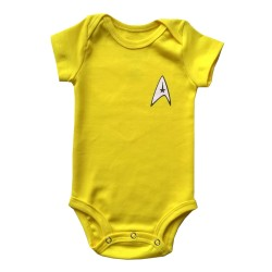 Body Star Trek |Amarelo...