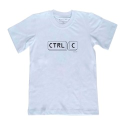 Camiseta Ctrl + C | Adulto