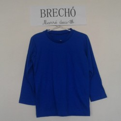 Camiseta Azul Royal | Brechó