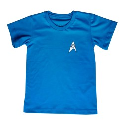 Camiseta Star Trek| Azul...